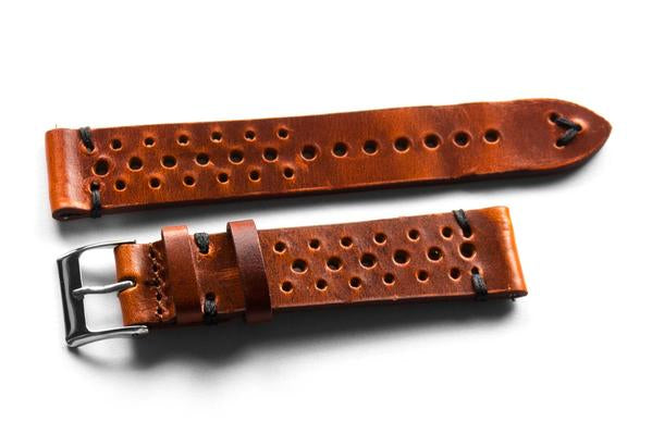 Kvarnsjö Premium Racing Rusty with black stitching