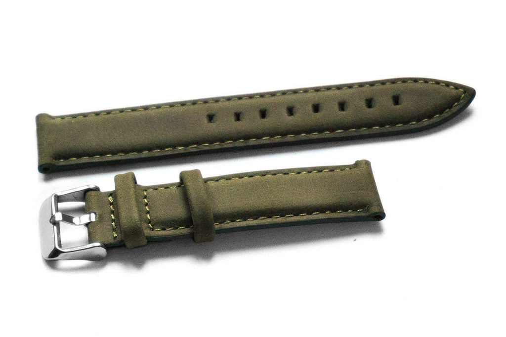 Kvarnsjö Padded Leather Olive