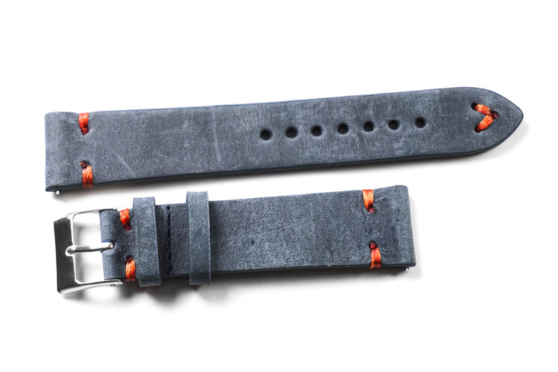 Kvarnsjö Gray with Orange stitching