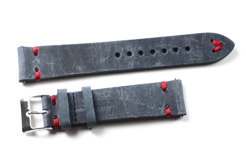 Kvarnsjö Gray with Red stitching