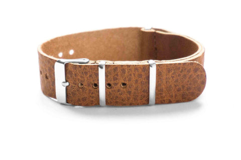 Leather NATO Strap Oak