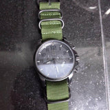 Extra Long PVD Zulu Strap 5-ring Khaki Green - Cheapest NATO Straps  - 5