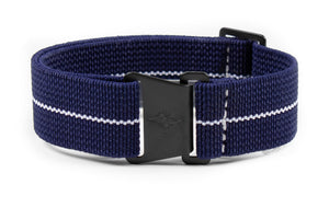 Marine Nationale PVD Strap Navy and White