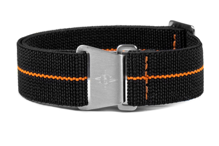 Marine Nationale Strap Black and Orange