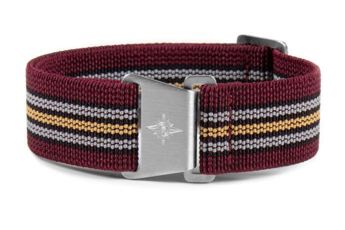 Marine Nationale Strap Burgundy Baron