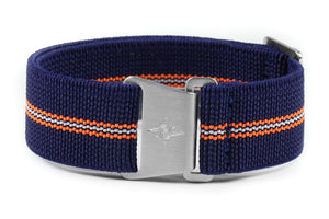 Marine Nationale Strap Navy, Orange and Lume