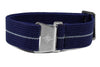 Marine Nationale Strap Navy and Gray