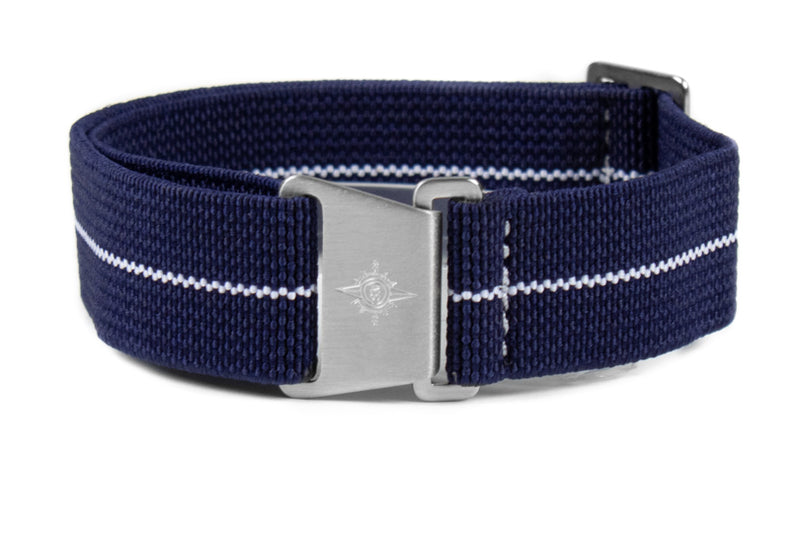 Marine Nationale Strap Navy and White