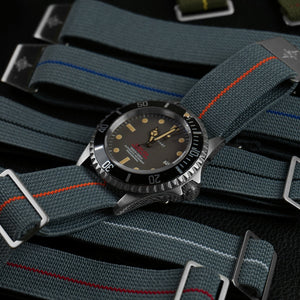 Marine Nationale Strap Gray and Black