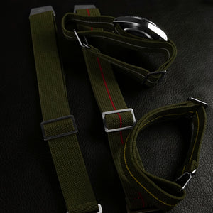 Marine Nationale Strap Khaki Green