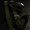 Marine Nationale Strap Khaki Green and White