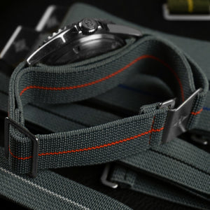 Marine Nationale Strap Gray and White