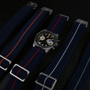 Marine Nationale Strap Navy and Red
