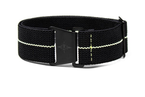 Marine Nationale PVD Strap Black and Lume
