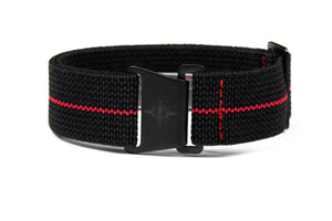 Marine Nationale PVD Strap Black and Red