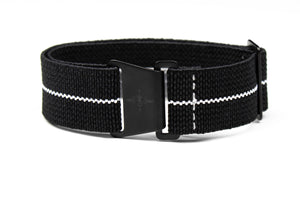 Marine Nationale PVD Strap Black and White