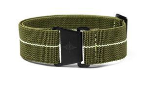 Marine Nationale PVD Strap Khaki Green and Lume