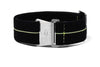 Marine Nationale Strap Black and Lume