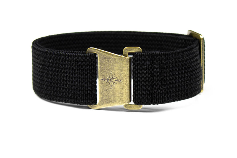 Bronze Marine Nationale Strap Black