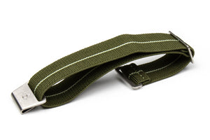 Marine Nationale Strap Khaki Green and Lume