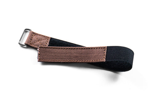 NASA Strap Brown Canvas (18, 21 & 22 mm)
