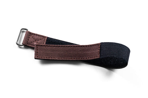NASA Strap Dark Brown Canvas