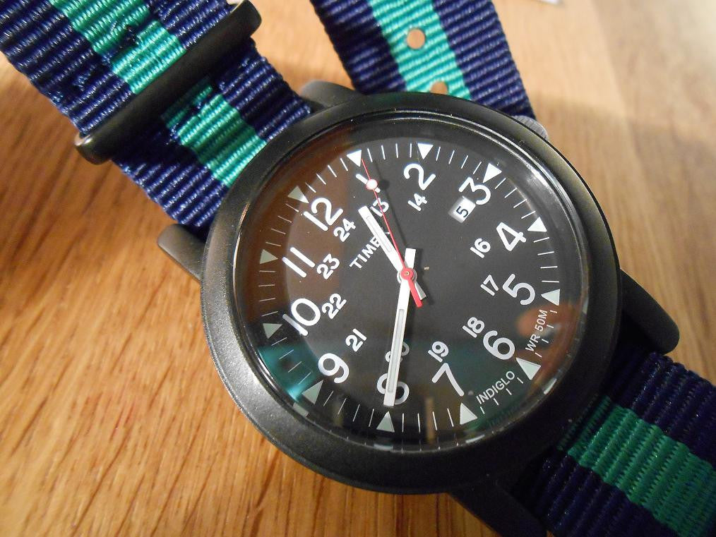 PVD premium NATO Strap Navy and green - Cheapest NATO Straps  - 5