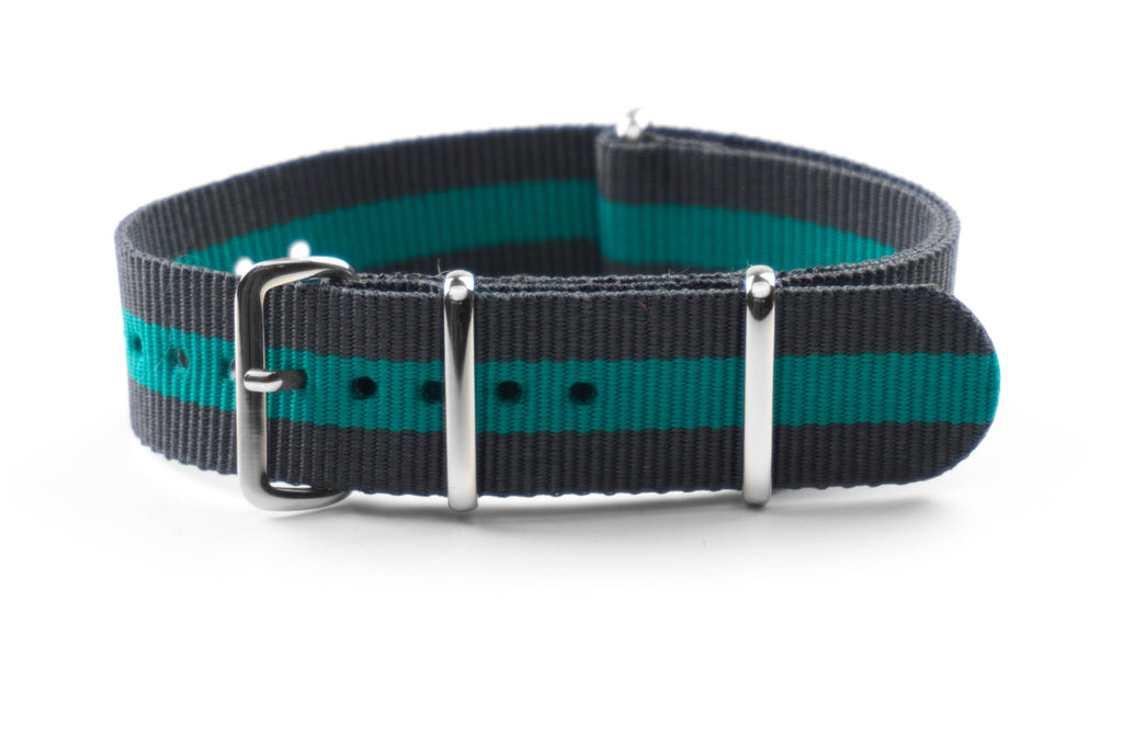 NATO Strap Gray and green