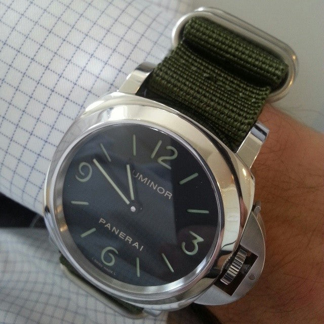 Extra Long Zulu strap SS 5-ring Khaki Green - Cheapest NATO Straps  - 8