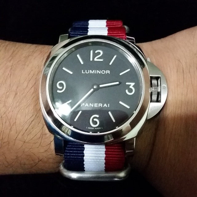 Zulu strap SS 5-ring Red, White and Navy - Cheapest NATO Straps  - 3