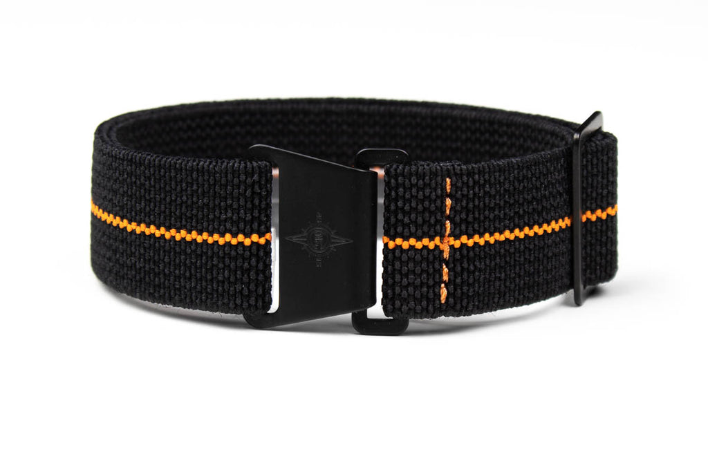 Marine Nationale PVD Strap Black and Orange
