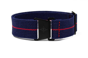 Marine Nationale PVD Strap Navy and Red