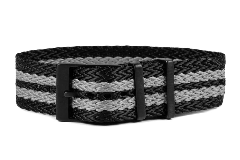 PVD SharkTooth Strap Black and Gray