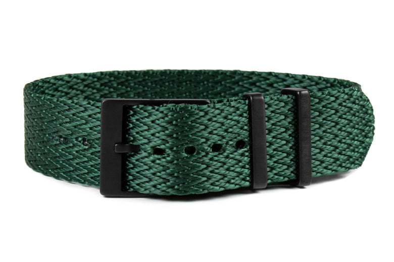 PVD SharkTooth Strap Forest Green