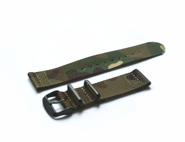 Two Piece PVD NATO Strap Camouflage (18, 20, 22 & 24 mm)