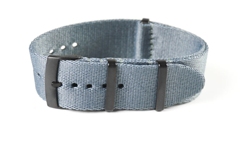 PVD Deluxe Seat Belt NATO Gray  (20 & 22 mm)