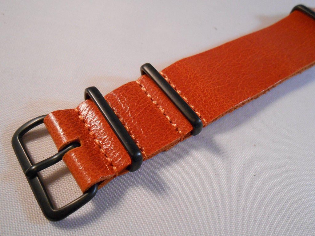 PVD Leather NATO Strap Autumn - Cheapest NATO Straps  - 2