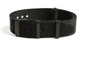 PVD Deluxe Seat Belt NATO Black