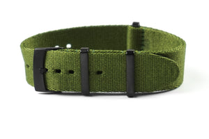 PVD Deluxe Seat Belt NATO Khaki Green (20 mm)