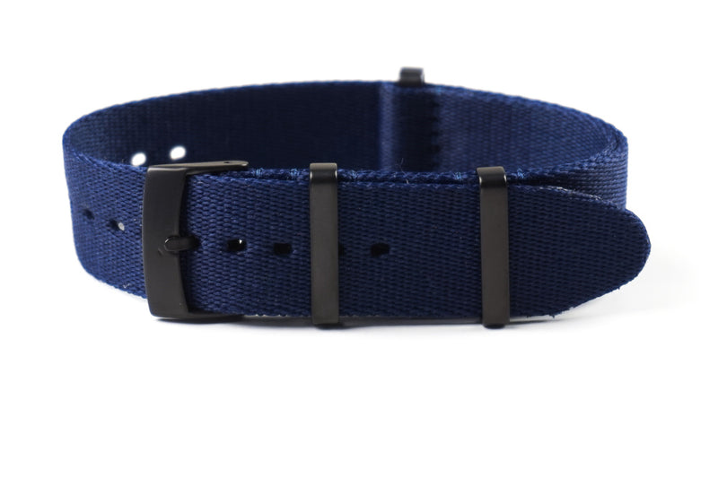 PVD Deluxe Seat Belt NATO Navy (20 & 22 mm)