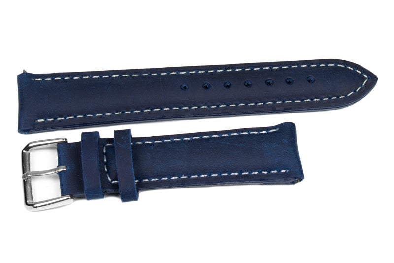 Padded Classic Midnight with white stitching