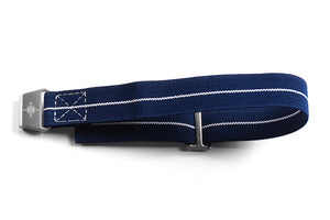 Paratrooper Strap Navy and White