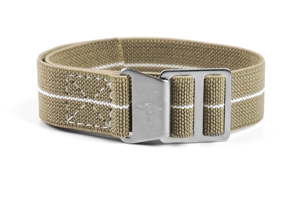 Paratrooper Strap Taupe and White