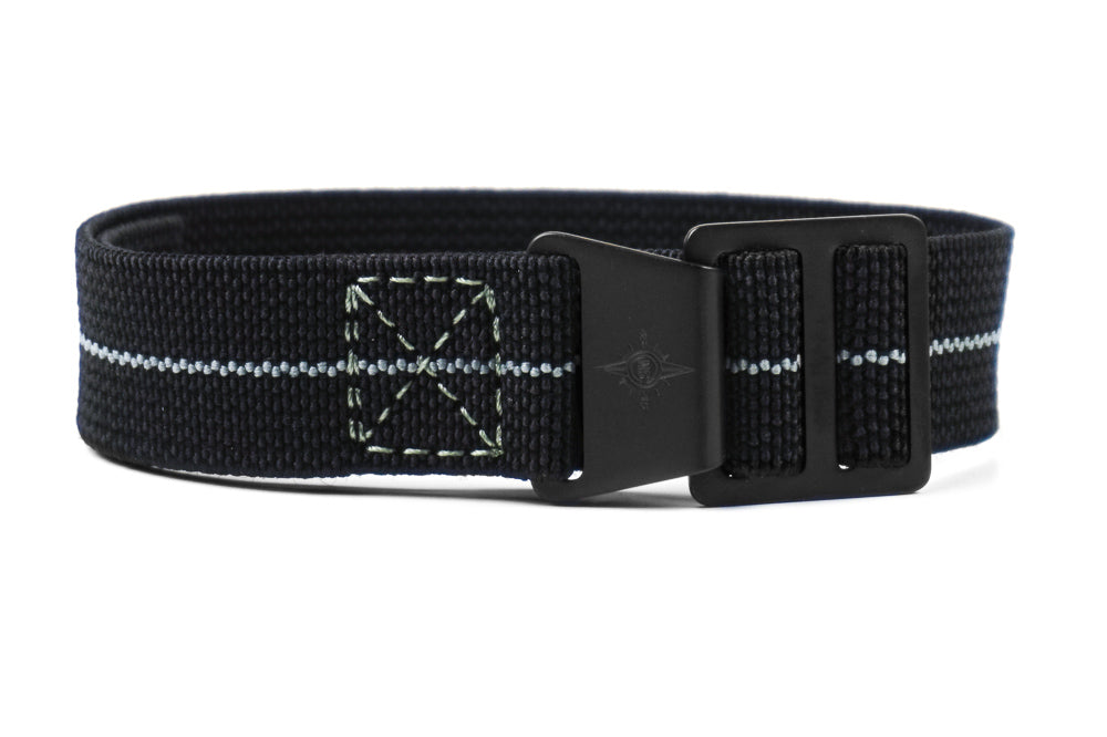 Paratrooper PVD Strap Black and gray
