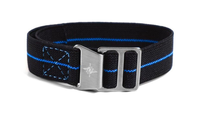 Paratrooper Strap Black and Indigo Blue