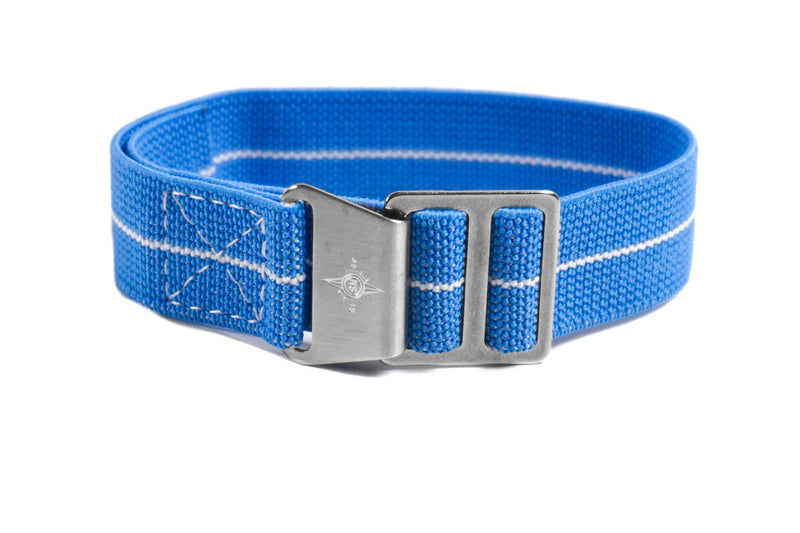 Paratrooper Strap Blue and White