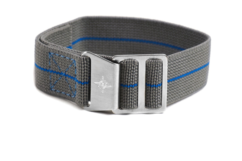 Paratrooper Strap Gray and Blue