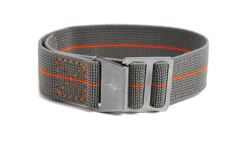 Paratrooper Strap Gray and Orange