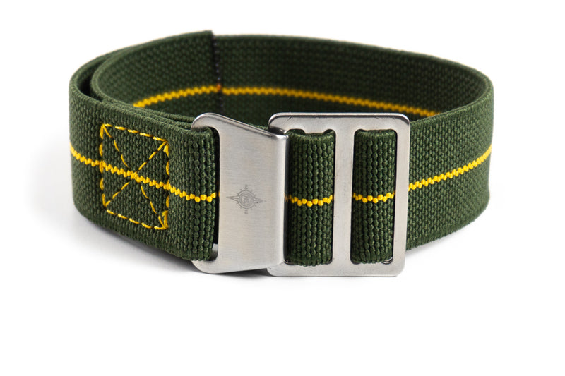 Paratrooper Strap Khaki Green and Yellow
