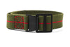 Paratrooper PVD Strap Khaki Green and Red